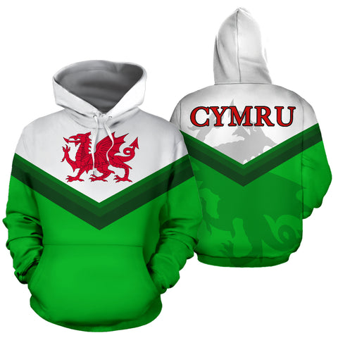Image of Welsh Dragon Flag Hoodie JT6