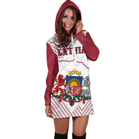 Image of Latvia Hoodie Dress K5