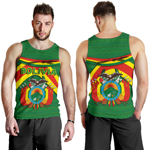 Image of Bolivia Men Tank Top - Vibes Version K8