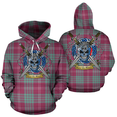 Crawford Ancient Tartan Hoodie Celtic Scottish Warrior A79 | Over 500 Tartans | Clothing | Apaprel