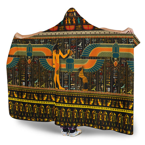 Egypt Pride Hooded Blanket - BN21