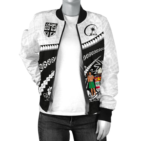 Fiji Women Bomber Jacket - Road to Hometown K4