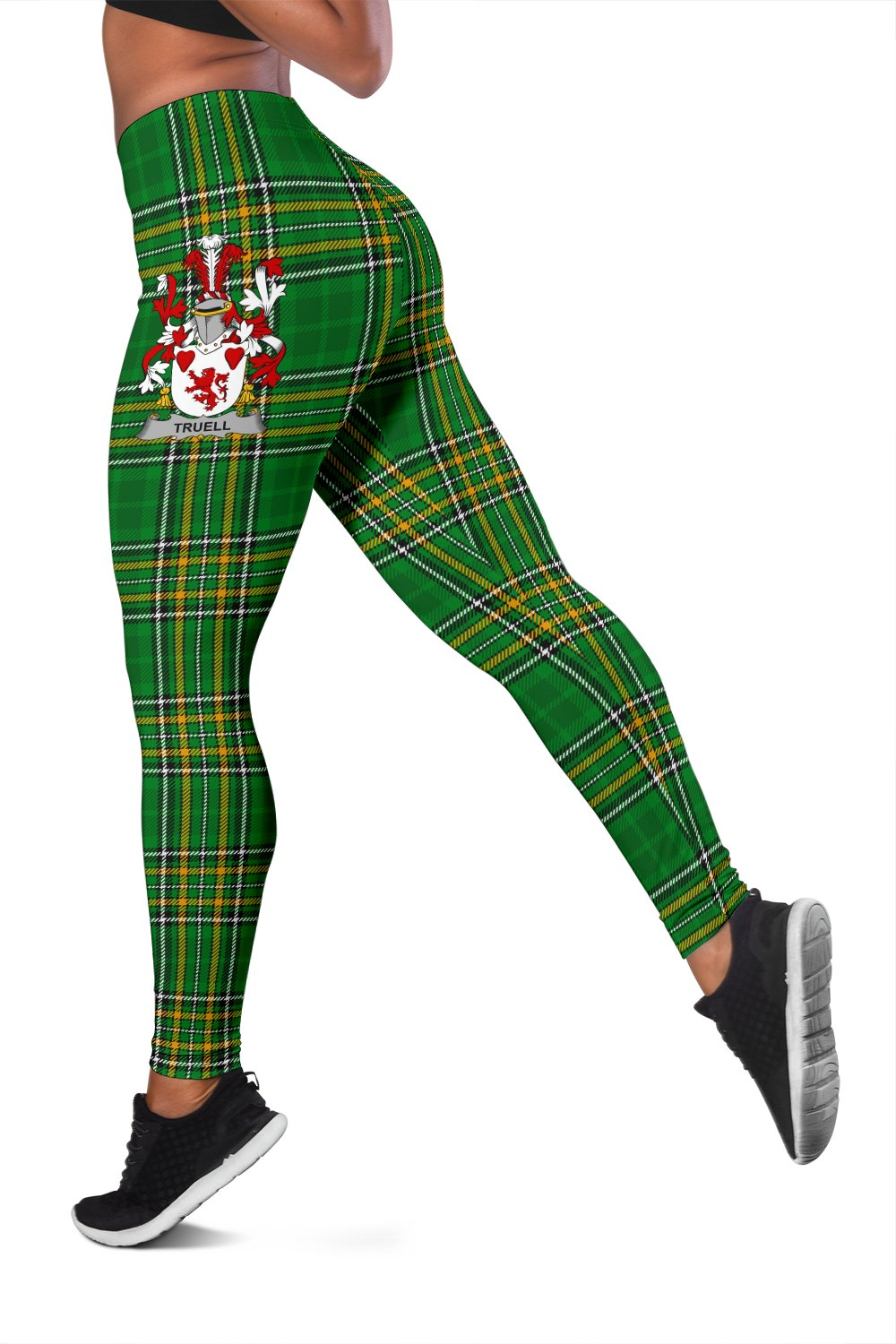 Truell Ireland Leggings Irish National Tartan | Over 1400 Crests | Clothing | Pant