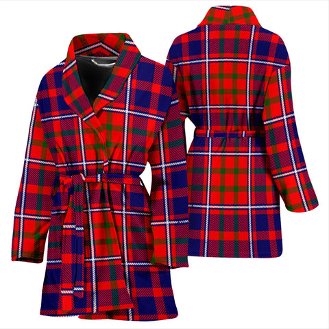 Cameron Of Lochiel Modern Bathrobe - Women Tartan Plaid Bathrobe Universal Fit