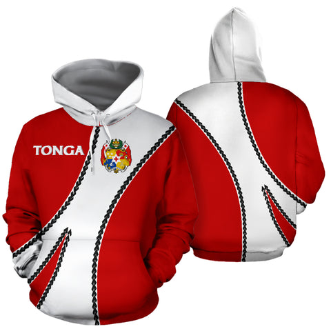 Tonga Hoodie Coat Of Arms - Sports Style