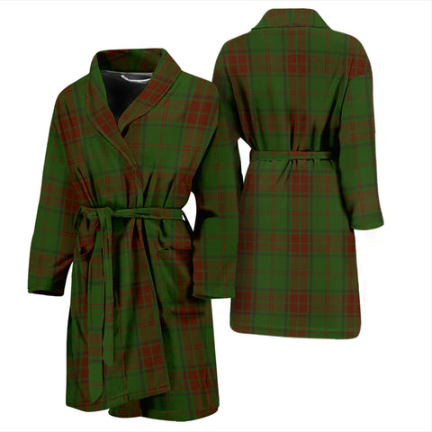 Maxwell Hunting Bathrobe - Men Tartan Plaid Bathrobe Universal Fit