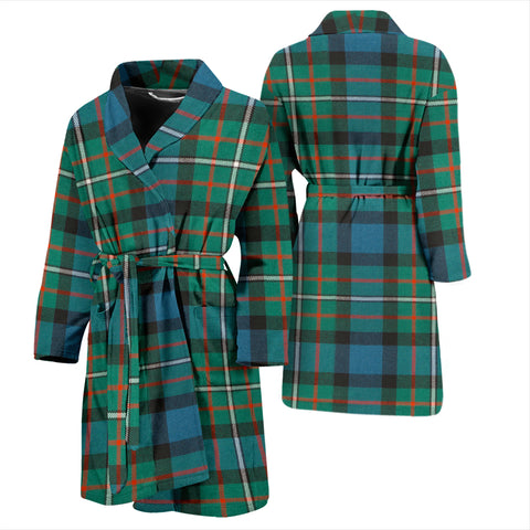 Image of Ferguson Ancient Tartan Men's Bathrobe - Bn04