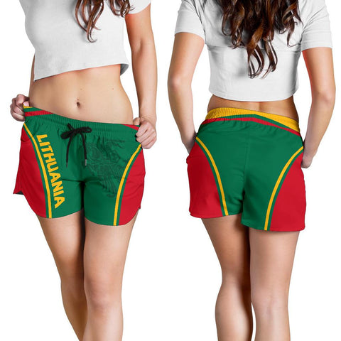 Lithuania Women Shorts Active Warrior A15