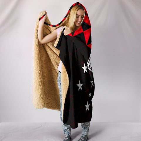 Papua New Guinea Polynesian Hooded Blanket Coat Of Arms