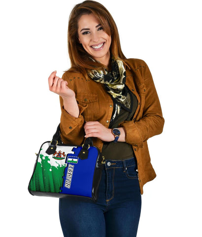 Lesotho Shoulder Handbag - Independence Day