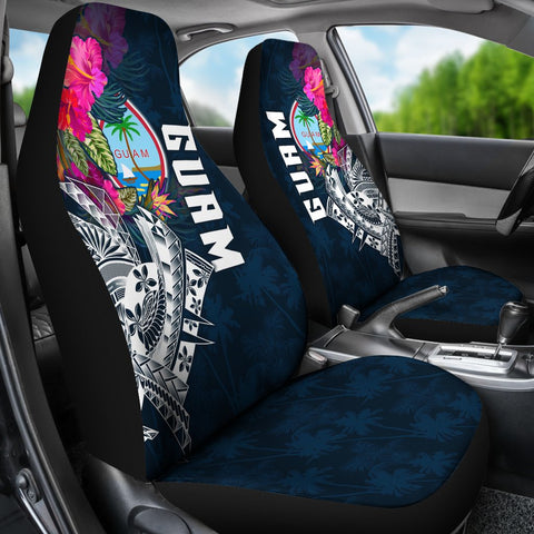 Image of Guam Car Seat Covers - Guam Summer Vibes