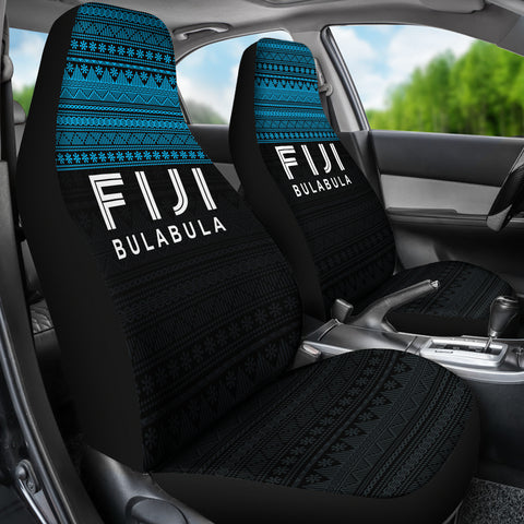 Image of Fiji Car Seat Covers - Fiji Bulabula Tapa Patterns - BN02
