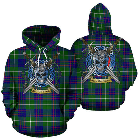 Image of MacIntyre Hunting Modern Tartan Hoodie Celtic Scottish Warrior A79 | Over 500 Tartans | Clothing | Apaprel
