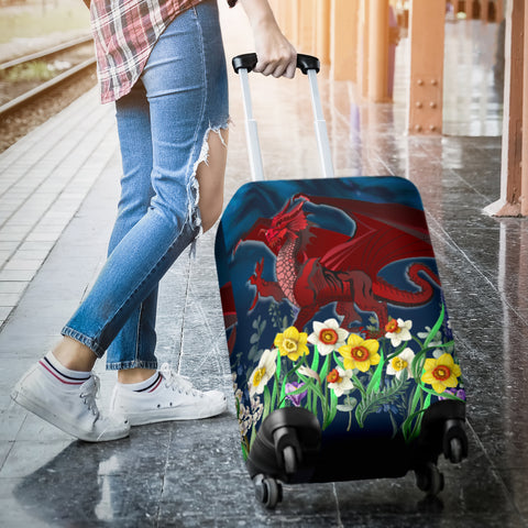 Welsh Luggage Covers - Dragon Daffodil A024