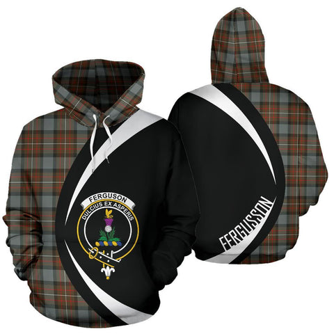 Fergusson Weathered Tartan Circle Hoodie HJ4