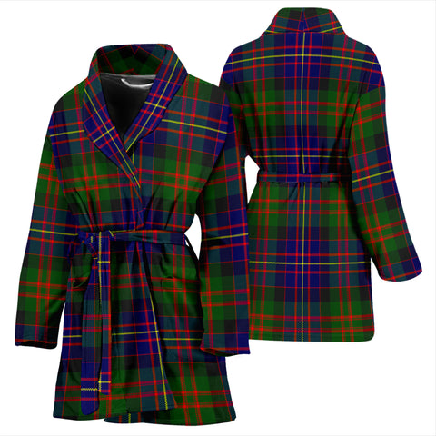 Image of Cameron Of Erracht Modern Bathrobe - Women Tartan Plaid Bathrobe Universal Fit