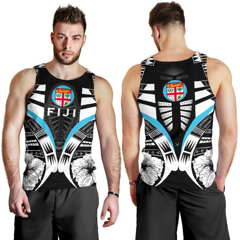 Fiji Tattoo Men Tank Top Hibiscus K9