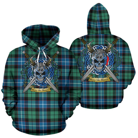 Image of Galbraith Ancient Tartan Hoodie Celtic Scottish Warrior A79 | Over 500 Tartans | Clothing | Apaprel