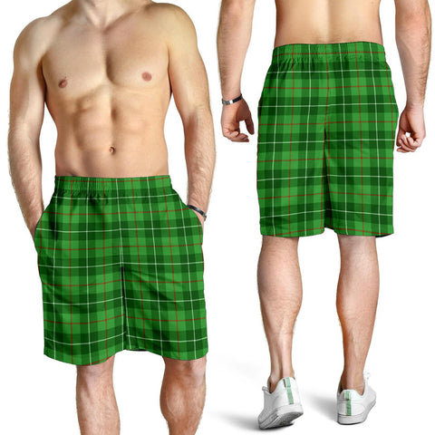Galloway District Tartan Shorts For Men TH8