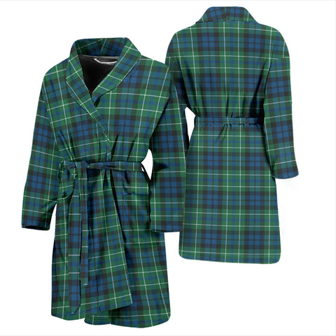 Image of Macneill Of Colonsay Ancient Bathrobe - Men Tartan Plaid Bathrobe Universal Fit