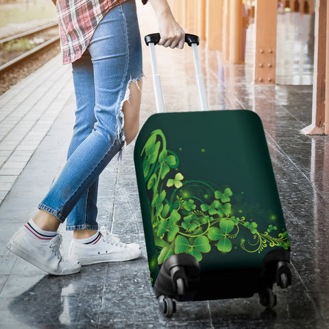 Image of Ireland Luggage Covers Highlight Shamrock | Love The World