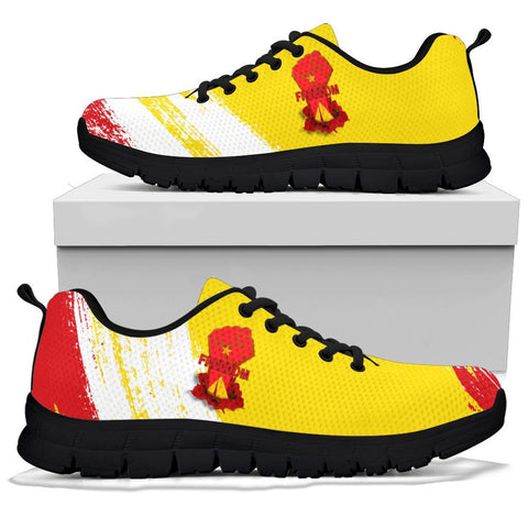 Freedom Tigray Flag And Map Sneakers A27