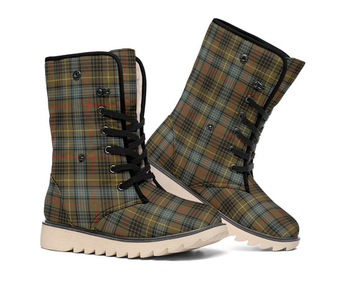 Stewart Hunting Weathered Tartan Boots