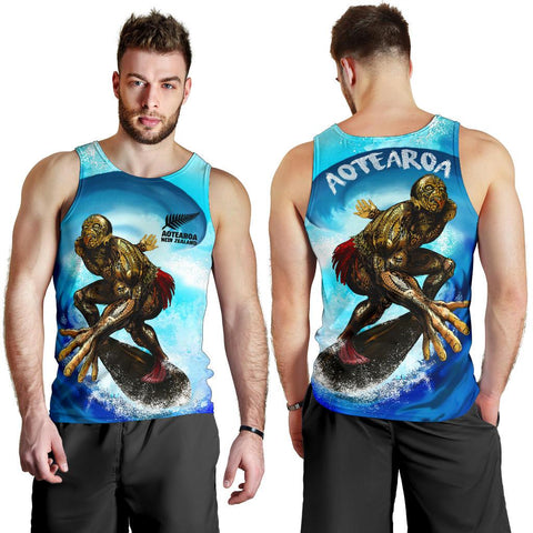 New Zealand Tank Top Aotearoa Surf A7
