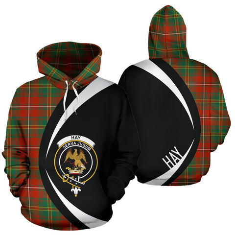 Image of Hay Ancient Tartan Circle Hoodie HJ4
