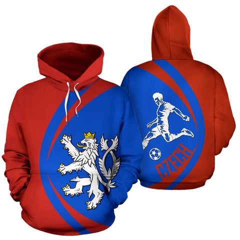 Image of Czech Sport Hoodie - Circle Style 01 J9