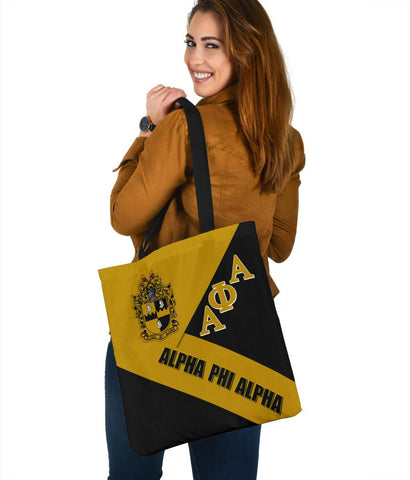 African Tote Bags - Alpha Phi Alpha In Me