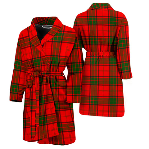 Image of Maxwell Modern Tartan Men's Bathrobe - Bn04
