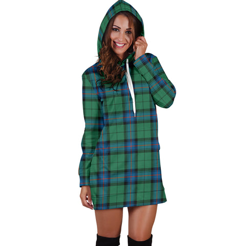 Image of Armstrong Ancient Tartan Hoodie Dress HJ4 |Women's Clothing| 1sttheworld