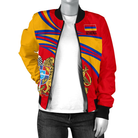 Armenia Women's Bomber Jacket A15