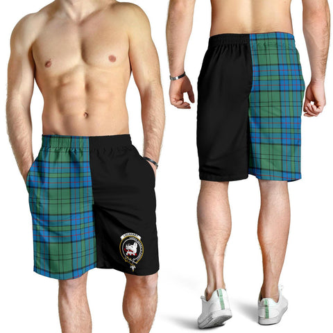 Lockhart Tartan Men Shorts Half Of Me K7