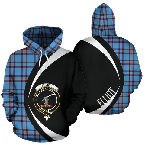 Elliot Ancient Tartan Circle Hoodie HJ4