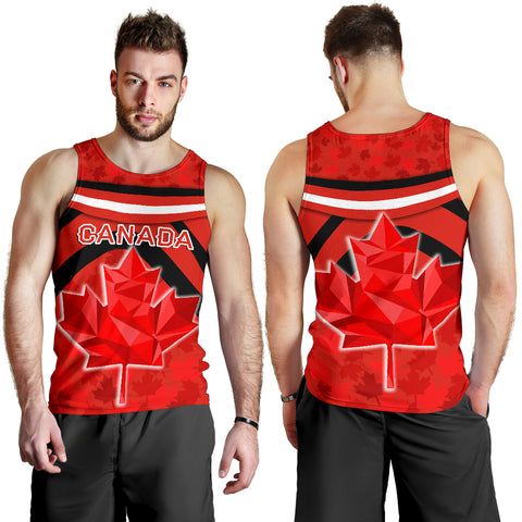 Canada Men Tank Top - Vibes Version K8