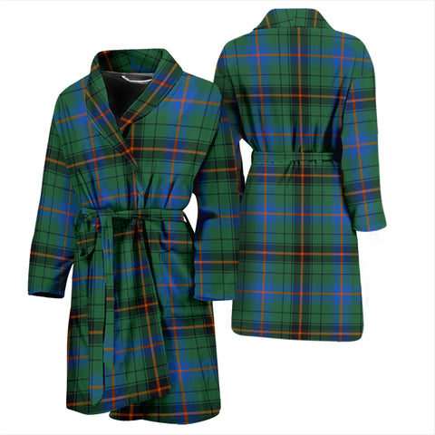 Image of Davidson Ancient Tartan Men's Bathrobe - Bn04