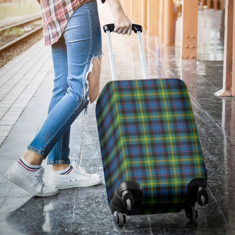 Watson Ancient Tartan Luggage Cover Hj4 | Love The World