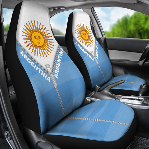 Argentina Car Seat Cover With Straight Zipper Style K52