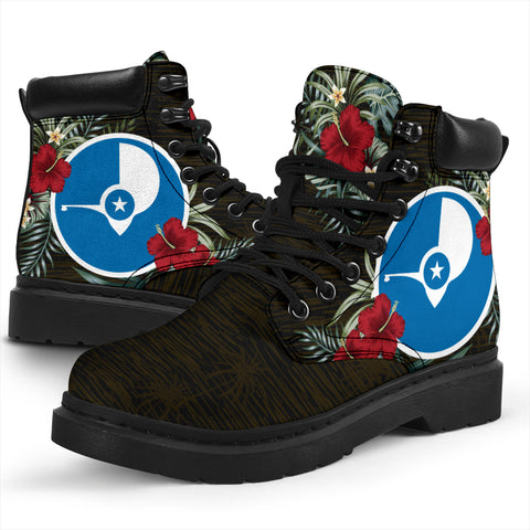 Yap Hibiscus All-Season Boots A7