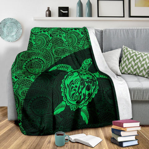 Hawaii Turtle Mermaid Premium Blanket 05 TH0