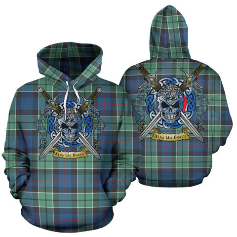 Image of Leslie Hunting Ancient Tartan Hoodie Celtic Scottish Warrior A79 | Over 500 Tartans | Clothing | Apaprel