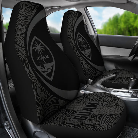 Guam Polynesian Tribal Car Seat Cover