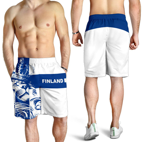 Finland Lion All Over Print Men's Shorts Bn10