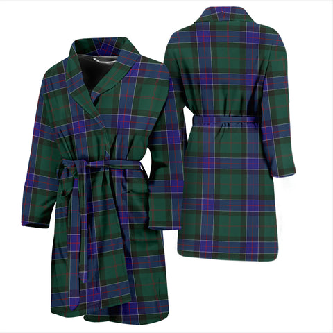 Image of Sinclair Hunting Modern Tartan Men's Bathrobe - Bn04