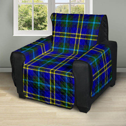 Image of Weir Modern Tartan Recliner Sofa Protector A9 copy