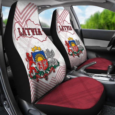 Image of Latvia Car Seat Covers K5