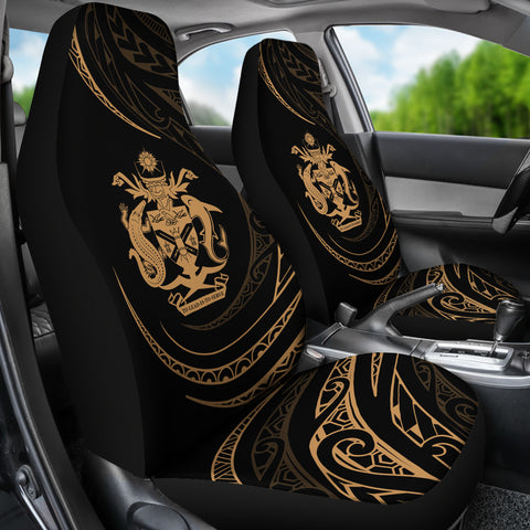 Solomon Car Seat Covers - Gold - Frida Style - J96
