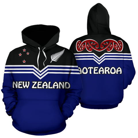 New Zealand Aotearoa Pullover Hoodie | Love The World